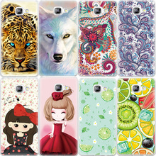 Soft TPU Pattern Phone Case For Samsung Galaxy A3 A5 A7 J1 mini J3 J5 J7 2016 S3 S4 S5 S6 S7 edge Note 3 4 5 G530 Cover Bag Capa