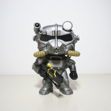 Game Fallout 4  PVC Action figure Out of clothin VaultBoy Power Armor Collectible Model Toys Great quality Christmas Gift