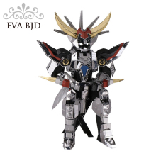 3D Metal Model Light Emperor Assemblage Building Blocks Model Cartoon Action Figure Kids Birthday Gifts Free shipping C0002(China)