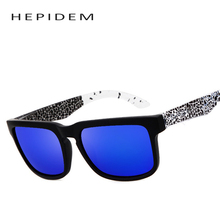HEPIDEM 2017 New Men Sports Helm Square Sunglasses Men's Classic Vintage  Retro Plastic Sun Glasses Gafas Oculos de sol
