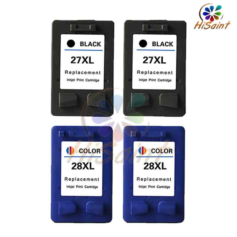 HOT sale 2Set Rushed for HP27XL 28XL ink cartridge for HP 3320 3325 3420 3535 3650 3745 3845 4255 large capacity Free shipping<br><br>Aliexpress