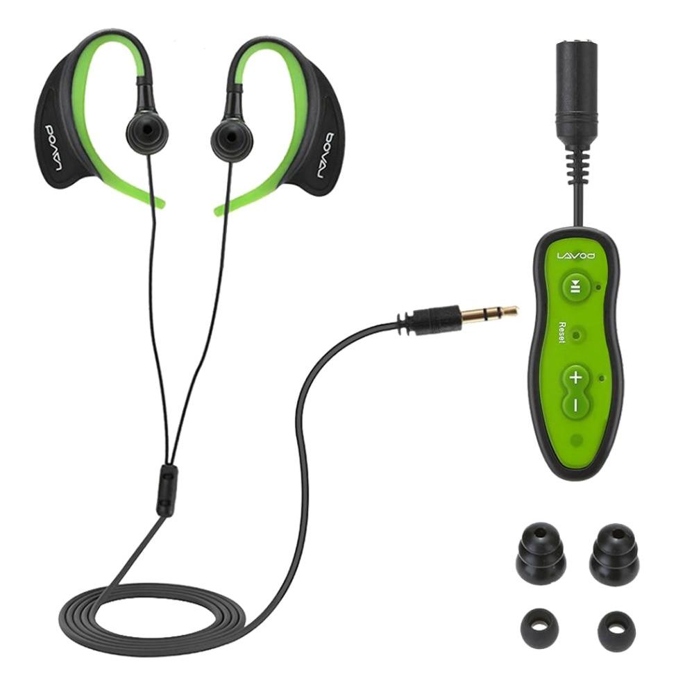 Hangrui Waterproof Swimming 4G 8GB MP3 Player sports underwater Diving Mp3 hifi bass USB Player with headphone