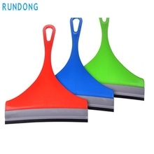 RUNDONG Drop ship car styling  Glass Window Wiper Soap Cleaner Squeegee Shower Bathroom Mirror Car Blade Brush Mar715