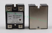 Red Indicator Light solid state relay SSR-25AA 25A 90-280V AC TO 24-480V AC SSR 25AA relay solid state SSR-A48A25Z