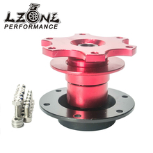 LZONE RACING - New Universal style steering wheel quick release Boss kit (Red color) JR3859R(China)