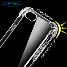 2017 Time-limited Real Directopia Luxury Brand 3d Shockproof Thick Hard Crystal Cases Cover For Iphone 6 6s 5s Plus Capa For Se