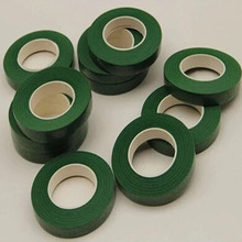 1PCS 12mm Green Color Paper Tape For Nylon Stocking Flower And Butterfly Accessories DIY Handmade Wreath hairpin accessory