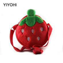 YIYOHI New 2017 Cartoon Fruits Casual Tote Children School bag Single Shoulder toys Bags Fashion Female Canvas Beach Bag