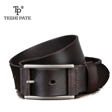 Buy TESHI PATE TP 2018 year New Hot Men's Casual vintage style Wild Retro Italy Top Layer Cowhide leather Belt for $17.33 in AliExpress store