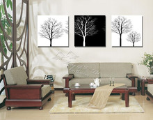 3 Piece Free Shipping Hot Sell Home Decorative  Art  oil  Painting canvas  art   Canvas Prints Abstract painting  tree artwork