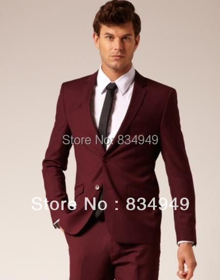 Online Buy Wholesale maroon suit jacket men from China maroon suit ...