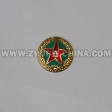China Army Land Force Cap Badge Aluminum CN/402112