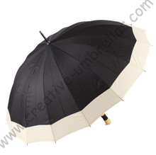 Auto open,16k umbrellas' ribs,pongee fabric,professional making umbrellas,straight  umbrellas,10mm metal shaft and fluted ribs