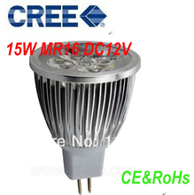 8pcs Mr16 LED 15W Equivalent to 50w halogen Lamp LED spot Lighting Light Bulb DC12V Warm White Cold White(China)