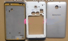Original Silver Housing For Lenovo S930 6.0inch,New Front Bezel Frame+Middle Plate+Battery Cover housings