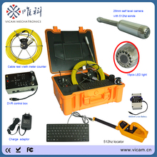 512hz pipe locator pipe receiver and 512hz transmitter Snake Drain Inspection Camera 30M Underwater Sewer Line Video Camera(China)