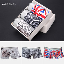 2017newest Male Underwear Men's Underpants Boxer 3 Pieces/lot Nylon Breathable Sexy Colorful L-2xl No Gift Boxes Hot Sale 9008-2