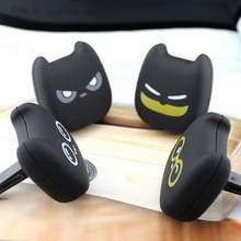 2PCS Cute Devil Air Outlet Ointment with Clip Holder Cleaner Lemon Cologne perfume Auto Air Freshener Car-styling Accessories(China)