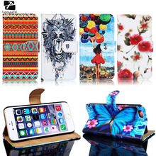 TAOYUNXI Phone Cover Case For For Apple iPhone 5C 5 5S 5G 55S SE 6C 4 4s 44s 6 6s 7 Plus iPod Touch 5 6  PU Leather Bag Case