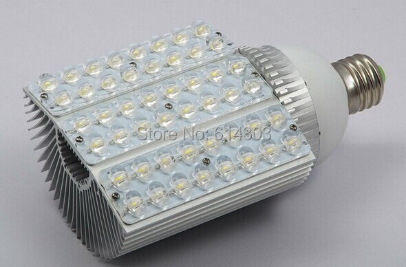 60w led street light E27 E40 lamp base led corn bulb light AC 85-265 V new item 2 years warranty free shipping(China (Mainland))