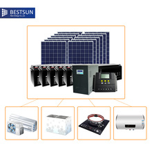 BFS-5000W-SB On/off Grid solar power system 5000W A.B.T BESTSUN solar power system collector solar energy kits power supply(China)
