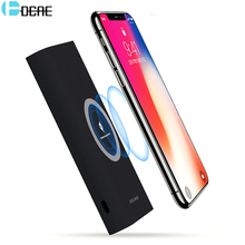 Buy DCAE Qi Wireless Charger iPhone X 8 Plus Wireless Power Bank Fast Charge Charging Pad Samsung S8 S7 S6 Note 8 PowerBank for $16.36 in AliExpress store