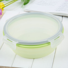 100% food grade Silicone collapsible Food Storage Container collapsible food storage box