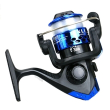 New 3 Ball Bearings Small Casting Line Plastic Cups Spinning Fishing Reel with Right Left Hand Exchangeable Handle 40-50m Lines(China)