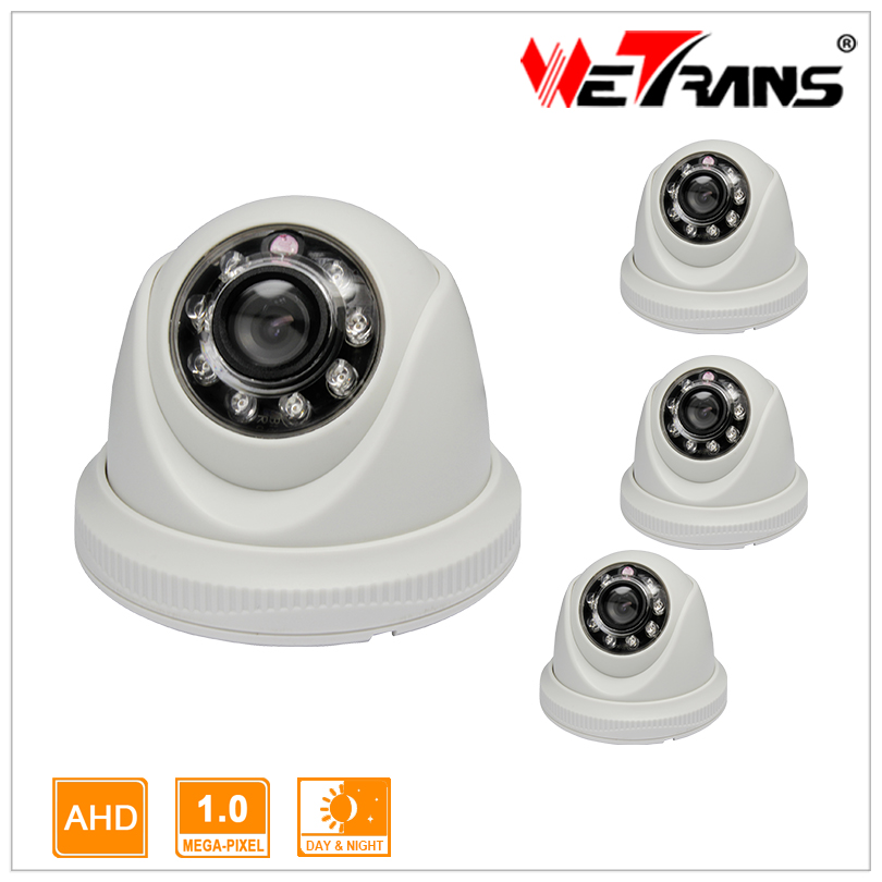 High Quality 12 LEDs with IR Cut 8m IR Distance Day/Night Vision AHD Analog Camera 720P 4pcs<br><br>Aliexpress
