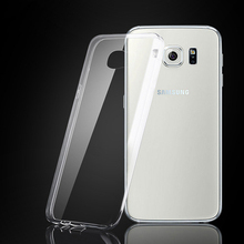 HIgh Quality Ultra-Thin Clear Silicon TPU Soft Phone Case For Samsung S3/S4/S5/S6/S7/Edge Note 2/3/4/5/A3/A5/A7/A8/A9 J5 J7 2016