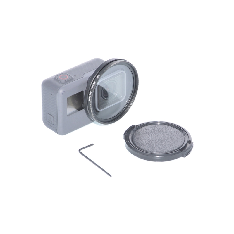 Protective Lens Cover Housing Case For Hero 5 Underwater Diving UV Filter 52mm