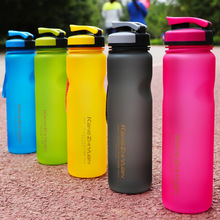 My Water Bottle Sport 600/1000ML Plastic BPA free Drink Bottle with infuser Portable Travel Bicycle Sports Water Bottle Outdoor(China)