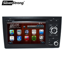"FreeShipping 2Din 7"" Car DVD Player for Audi A4 2002 2003-2007 DVD Car Radio Navigation A4 Multimedia Stereo for Audi A4 Car DVD"