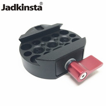 Jadkinsta Camera Quick Release Plate Adapter with 3/8 Screw Mount for DJI Ronin MX DSLR Camera Fotografica Studio Kit Stabilizer(China)