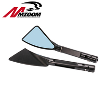 Mzoom -Aluminum CNC motorcycle rearview Side mirror For honda yamaha Kawasaki z750 Suzuki Ducati