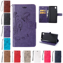 Buy Flip Case Sony Xperia L1 G3311 G3313 G3312 Case Phone Leather Cover Sony Xperia L 1 XperiaL1 G 3312 3313 Butterfly Cases for $4.13 in AliExpress store