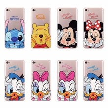 Fashion Pooh Stich Donald Dasy Duck Design Soft TPU Case For Lenovo S90 S90T Silicone Back Cover Phone Bag Cases For Lenovo S90