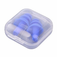 LESHP Soft Silicone Swimming Ear Plugs Sound Noise Reduction Earplug With Retail Box for Swim Sleep Snoring Swimming Accessories