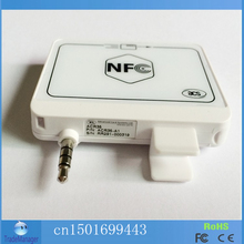 2-in-1 NFC and magnetic Card Reader Writer + SDK For Mobile Banking& e-Purse&Loyalty for ISO and Android Phones