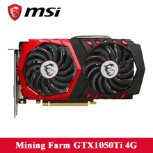 Buy MSI GTX1050Ti 4G video card 128 bit GDDR5 7008MHz Core frequency 1290MHz-1392MHz 14nm DirectX 12 DVI HDMI Graphics card ETH for $279.00 in AliExpress store