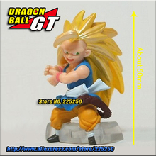 Japanese Anime DRAGONBALL Dragon Ball GT Genuine Original BANDAI Gashapon PVC Toys Figure HG 2 Son Goku Super Saiyan - DragonBall Store store