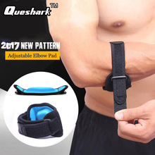 1Pcs Fitness Elbow Pads Tennis Badminton Coderas Muscle Pressurized Protective Adjustable Elbow Brace Men Women Sports Safety