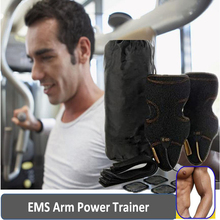 2016 Health Care EMS Micro Electronic Arm Belt Muscles Trainer Slimming Belts Body Massage EMS Muscle Stimulator