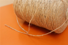 Natrual kraft Paper Hang Tags String Jute Cord Twine hemp Rope for Envelop Gift Box Wrapping,Wedding/Xmas,Cookie/Cake/Gift/ DIY(China)