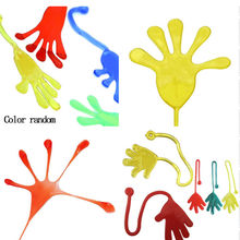 Elastic Sticky Squishy Slap Hands Palm Toy Children Kid Party Practical Jokes Favors Toy Cheap Gifts(China)
