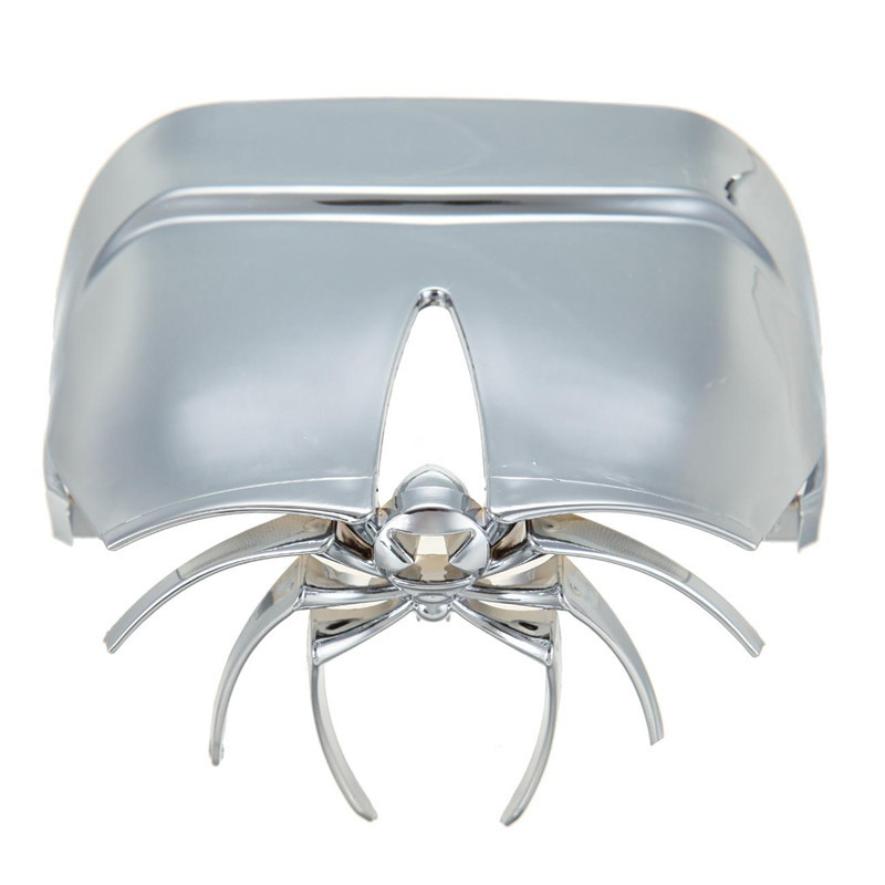 Motorcycle Chroming Spider Widow Rear Tail Light Cover Fit for Harley Davidson FXSTD 2000 - 2007 V-Rod 2002 - 2012<br>