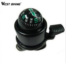 WEST BIKING Bicycle Bike Handlebar Bell Ring Horn High Quality The Compass 5 Color Choose Cycling Horn Bicycle Bell(China)