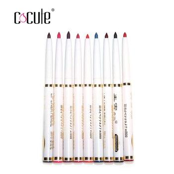 Новый 9psc/мода набор женские Профессиональные карандаш levre матовая губ леди водонепроницаемый красоты инструменты макияж для губ/карандаш для глаз