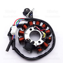 DC Ignition Stator Magneto Coil 11 Poles For GY6 125cc 150cc Moped Scooter ATV Quad Buggy Go Kart Motorcycle Motocross
