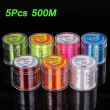 5Pcs 500m Daiwa Fishing Line Nylon Super Strong Z60 Series Japan Monofilament Fishing Line Fishing Line Without Package Box(China)
